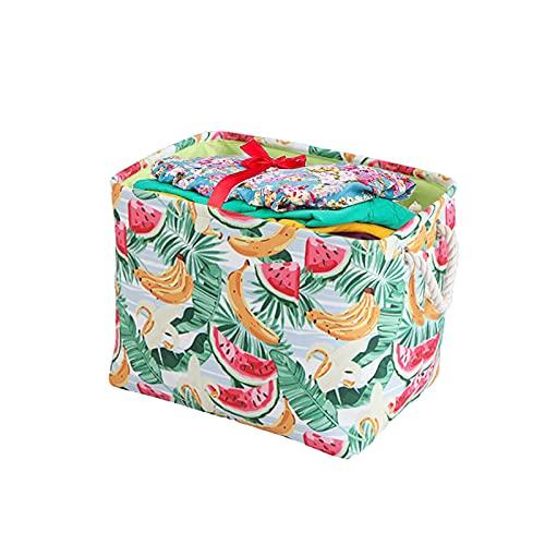 Onlyup Cajas de almacenaje de tela, plegable, cubos, cesta de almacenamiento para libros, juguetes, organizador plegable, para habitación de los niños, 30 x 40 x 40 cm
