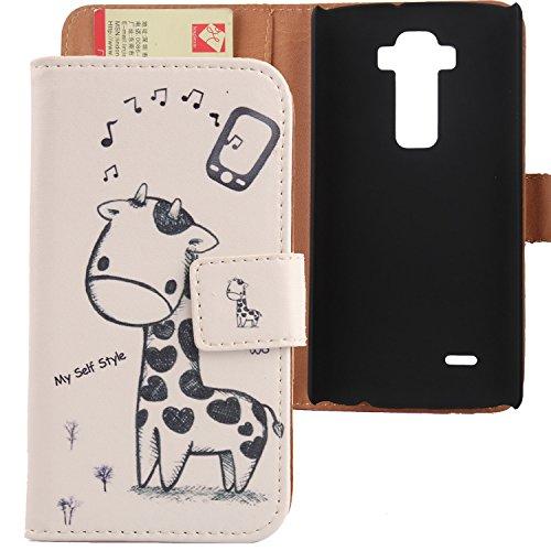 Lankashi PU Flip Leder Tasche Hülle Case Cover Schutz Handy Etui Skin Für LG G Flex 2 F510 H959 5.5