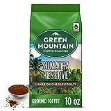 Green Mountain Coffee Roasters Sumatra Reserve, Ground Coffee, Dark Roast, Bagged 10 oz