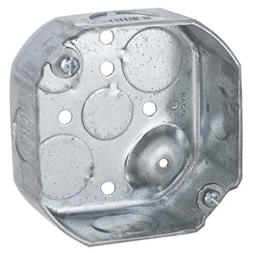Hubbell-Raco 127 1-1 / 2-inch Deep 1/2-Inch