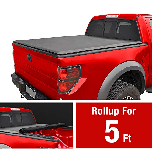 MAXMATE Soft Roll Up Truck Bed Tonneau Cover for 2015-2018 Chevy Colorado/GMC Canyon