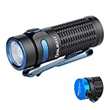 OLIGHT Baton 3 1200 Lumens Compact Rechargeable Flashlight CW LED High Performance EDC Flashlight Powered by IMR16340 Battery and Magnetic Charging Cable (Black)