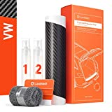 Luxshield Ladekantenschutz Folie Komplettset für ID.3 I 2020-2021 - Stoßstangenschutz, Kratzschutz, Lackschutzfolie - Carbon Optik Selbstklebend