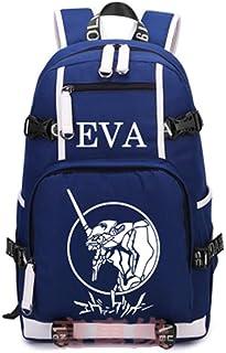 Anime Neon Genesis Evangelion Backpack Cosplay EVA Men Women Canvas Bag 2 (1)