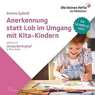 Anerkennung statt Lob im Umgang mit Kita-Kindern Titelbild