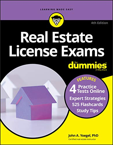 Compare Textbook Prices for Real Estate License Exams For Dummies with Online Practice Tests 4 Edition ISBN 9781119724858 by Yoegel, John A.