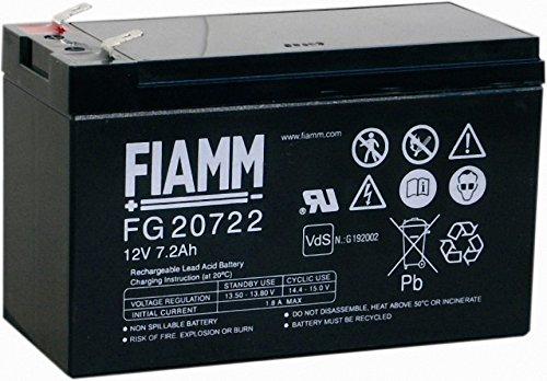 bester Test von wohnmobil batterie adac Original FIAM MAGM Batterie FG2072212V 7.2Ah UPS AGM Bleibatterie mit Blei Gel für Rasenmäher…
