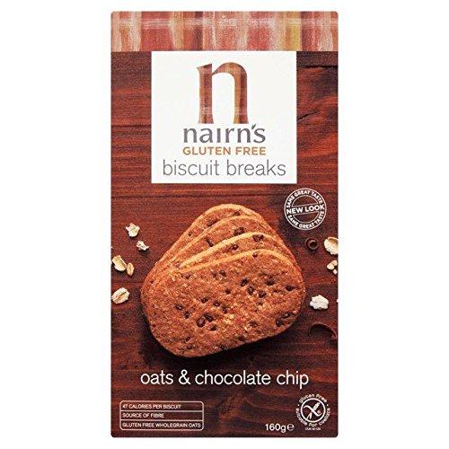 Nairns Gluten Free Chocolate Biscuit Break 160g