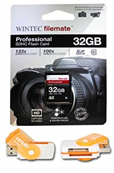 32GB Class 10 SDHC High Speed Memory Card For SANYO XACTI CAMERA VPC HD1010 HD2000A Perfect for high-speed continuous shooting and filming in HD Comes with Hot Deals 4 Less All In One Swivel USB card reader and.