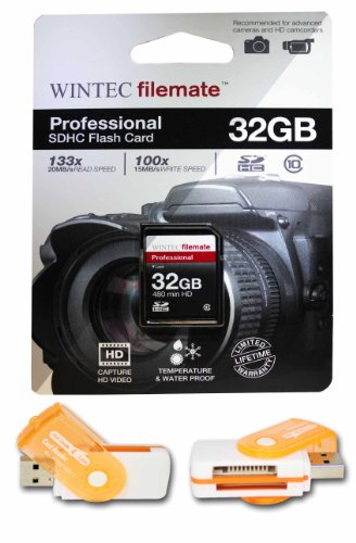 32GB Class 10 SDHC High Speed Memory Card For CANON POWERSHOT CAMERA SD960 IS S5 IS SX. Perfect for high-speed continuous shooting and filming in HD. Comes with Hot Deals 4 Less All In One Swivel USB card reader and.