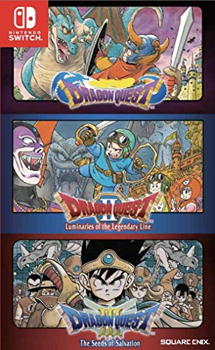 Dragon Quest 1 2 3 Collection Nintendo Switch English Subtitles