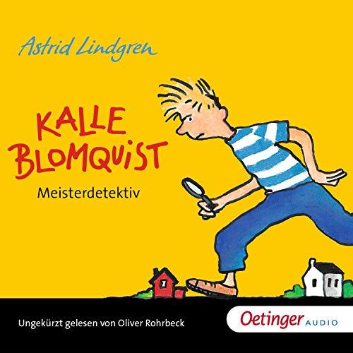 Kalle Blomquist Meisterdetektiv audiobook cover art