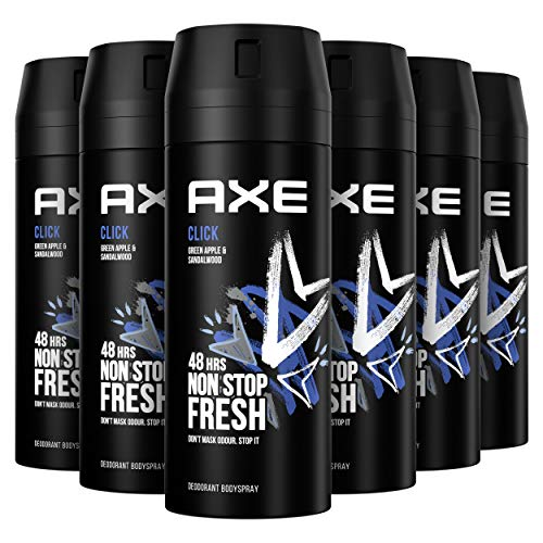 AXE Deodorant Bodyspray Click - 6 x 150ml