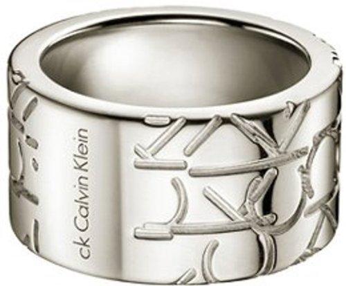 Calvin Klein KJ19AR110106 - Anillo de Mujer de Plata