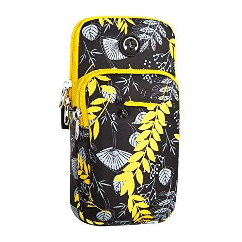 Bolsa de deporte para el brazo del teléfono móvil al aire libre universal equipo de ejecución deportes caso del teléfono móvil bolsa de teléfono móvil bolsos deportivos (color: E, tamaño: 17 x 9 cm)