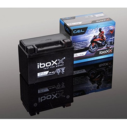 Iboxx Motorrad Gel Batterie / Gelbatterie 53030, 12 Volt, 30 Ah für Moto Guzzi California 1100 ie Stone, KD, Bj. 2002