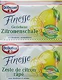 Dr. Oetker Finesse Geriebene Zitronenschale, 11er Pack (22 x 6g) -