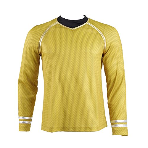 Star Trek Into Darkness Captain Kirk Hemd Uniform Kostüm (L)