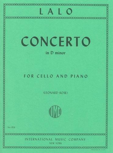 Lalo: Concerto in D minor (Cello & Piano)