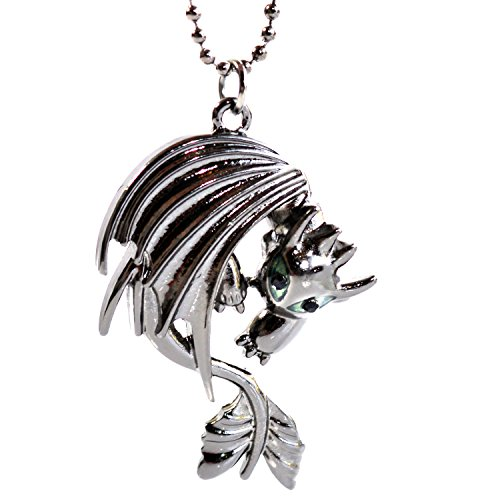 Beaux Bijoux How to Train Your Dragon Necklace - Toothless Night Fury Pendant