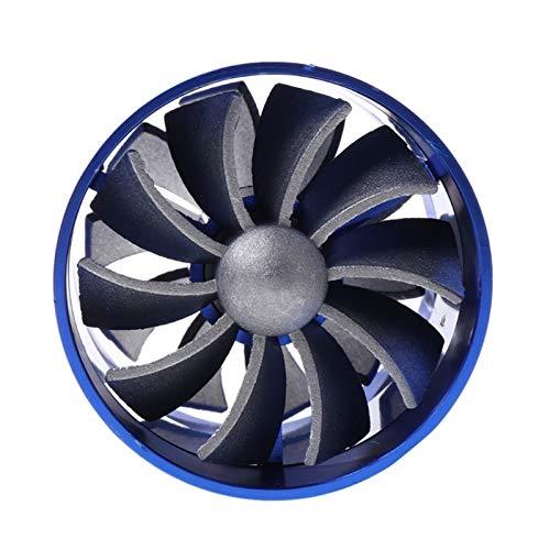 YEZHENGHUA Yzhua 2021 Nuevo F1-Z Doble Supercharger Turbina Turbo Air Ingenio de Aire Combustible Gas Saver Fan BL/BK