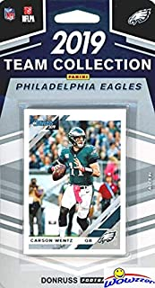Philadelphia Eagles 2019 Donruss NFL Football Limited Edition 11 Card Complete Factory Sealed Team Set with Carson Wentz, Jordan Howard, Randall Cunningham & Many More Stars & Rookies! WOWZZER!