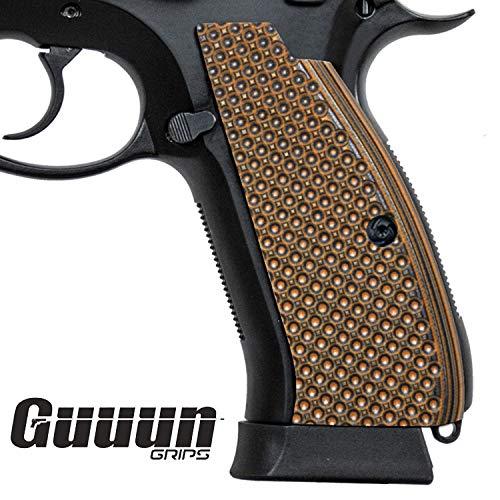 Guuun CZ75 Griffe Volle Größe CZ SP01 Golfball Grübchen Textur