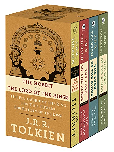 J.R.R. Tolkien 4-Book Boxed Set: The...