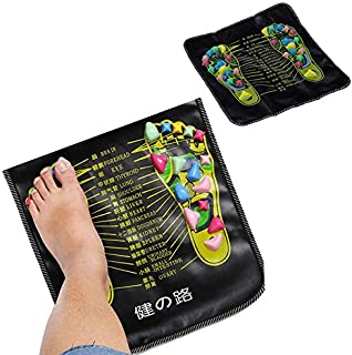 FANZHOU Foot Massage Mat Walk Stone Relaxing Pressure Muscle Pain Relieve Pat Acupressure Reflexology Therapy Feet Pad