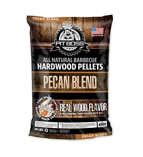 PIT BOSS 55239 20lb Pecan Blend Wood Pellets, Brown