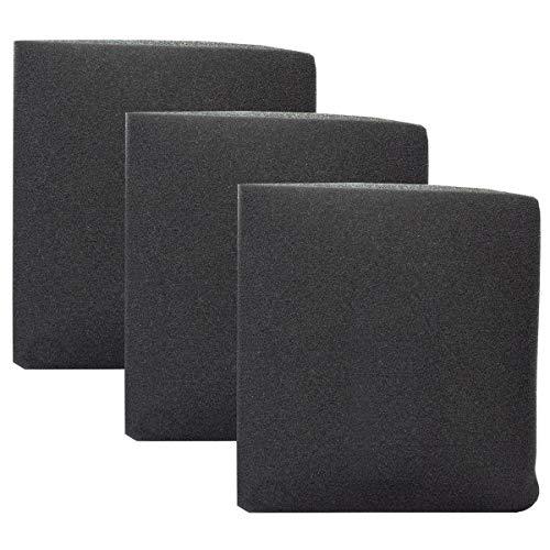 Nassfilter 3er Pack Schaumstofffilter für Parkside Nass Trocken Sauger PNTS 1200 1250 1300 A1 B2 C3 E4 F4 NTS Filter Nass Trockensauger