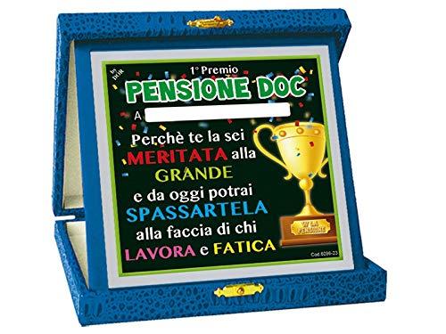 PARTYLANDIA Targa Premio per Festa di Pensione Pensione Doc