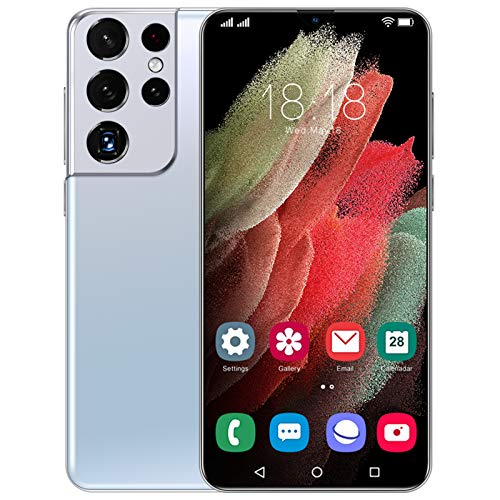 Lenove S21 Ultra Smartphone(5g Dual Sim Mobile Phone Unlocked,12gb Ram+512gb ROM,32mp/50mp Ai Camera, 6.7 Inches Fhd+ Waterdrop Display, 6800mah Battery, Android Os 11.0 System) 2021 12G+512G White