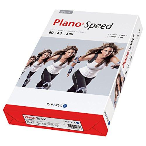 PlanoSpeed Kopierpapier Qualitäts-Druckerpapier Drucker Papier DIN A3 500 Blatt