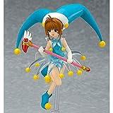 Mssms Figurines d'action Card Captor Sakura Modèle D'anime Classique Personnages D'anime 13CM De Haut Visage Variable en PVC Matériel De Collection Enfants Cadeau Décorations De Bureau Jouet Dessin