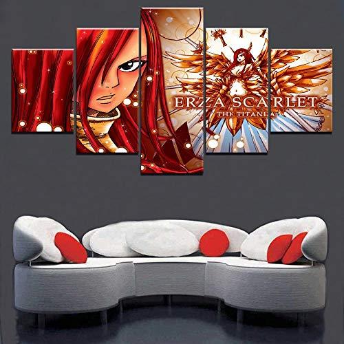 Arte de pared Decoración moderna para el hogar Dormitorio d