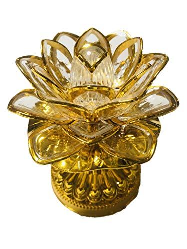 """念仏機""""LEDロータス ゴールド""""(ブッダマシーン)/Buddha machine LED Lotus Gold"""