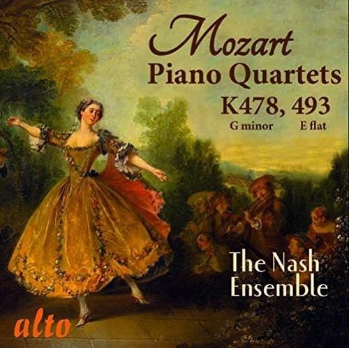 Mozart: Klavierquartette K 478 & K 493