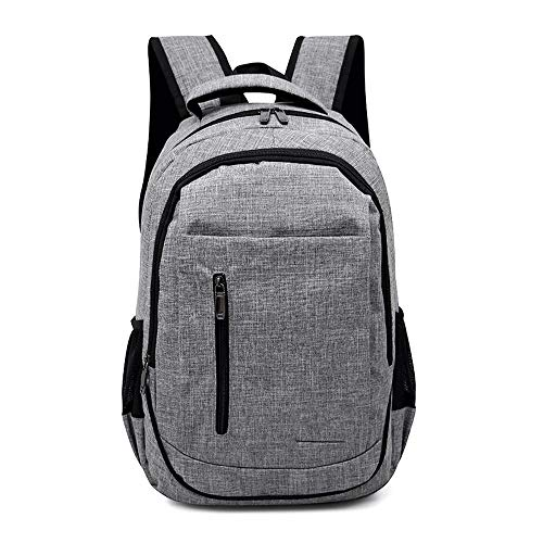 CLCCYYSJD Men Women Backpack Boys Backpack School Bags School Backpack Youth Casual Fashion Large Capacity (Color : Gray)