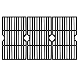 Hongso 16 7/8-inch Cast Iron Grill Grates Replacement for Gas Grill