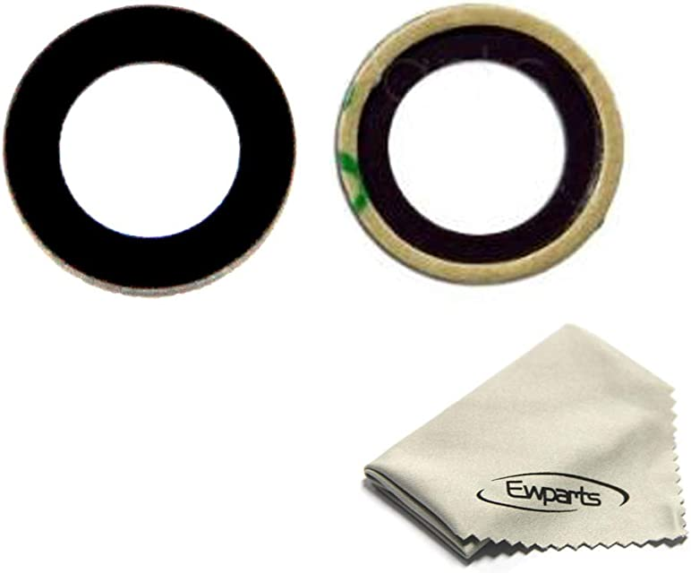 Ewparts Reemplazo de la Lente de la cámara de Vidrio con Cara Posterior Compatible para la Lente de Vidrio del iPhone 7 / iPhone 8