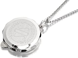UK Jewellery 48 x 18 inch 2.5mm Silver Trace Link Necklace Pendant Locket Chain