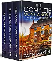 THE COMPLETE MONICA NOBLE MURDER MYSTERIES three utterly gripping cozy mysteries box set (Cozy crime and suspense...