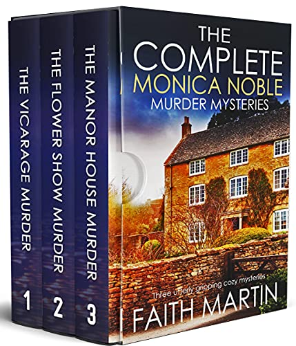 THE COMPLETE MONICA NOBLE MURDER MYSTERIES three utterly gripping cozy mysteries box set (Cozy crime and suspense mystery box sets) (English Edition)