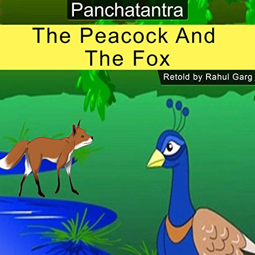 The Peacock and the Fox audiobook cover art