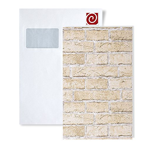 MUESTRA de papel pintado EDEM serie 583 | efecto muro de ladrillos, S-583-XX:S-583-20