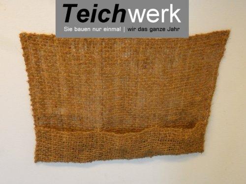 TEICHWERK 3er Pflanztasche|Kokostasche|Kokosmatten Pflanztaschen
