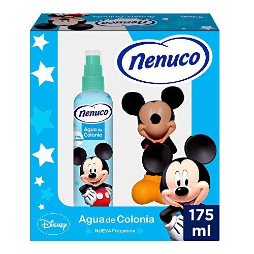 Nenuco Pack Agua de Colonia Infantil Bebé Mickey con Muñeco - 175 ml
