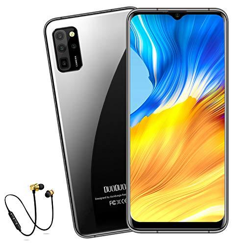Smartphone ohne Vertrag 5G WiFi, DUODUOGO S20 Android 10 Go 6,52 Zoll FHD Display, 6GB RAM - 64GB ROM, 256GB Erweiterbar 8-Core 2.5GHz CPU, 4500mAh Akku 16MP Kamera Dual-SIM-4G-Global Version Handy