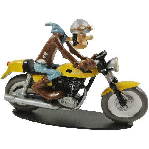 Promobo - Figurine de Collection BD Joe Bar Team Racing Ducati 350 Ted Debielle N°2